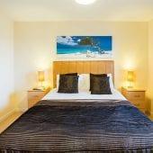 Service apartment bedroom in Hemel