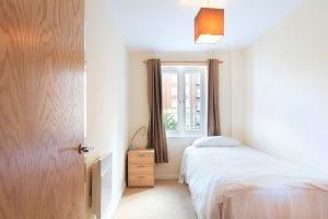 Second bedroom of luxury 2 bed apartment to rent in Hemel Hempstead