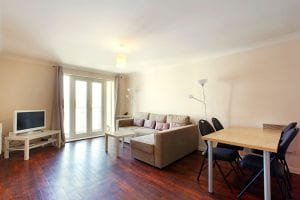 Lounge/ Diner of 2 bed serviced apartment to rent in Hemel Hempstead