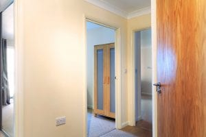 Hallway of luxury 2 bed apartment to rent in Hemel Hempstead