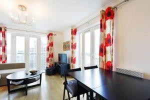 Apartment 62 living room