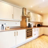 Kitchen of luxury 2 bed Penthouse apartment to rent in Hemel Hempstead
