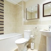 Bathroom of luxury 2 bed Penthouse apartment to rent in Hemel Hempstead