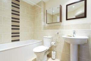 Bathroom of luxury 2 bed Penthouse apartment to rent in Hemel Hempstead
