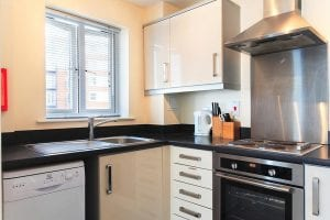 Kitchen of 1 Bed Serviced Apartment to Rent in Hemel Hempstead