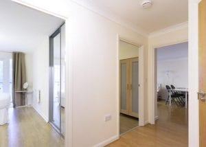 2 Bedroom Serviced Apartment Hemel Hempstead Hallway