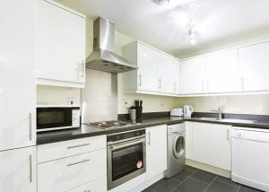 2 Bedroom Serviced Apartment Hemel Hempstead Kitchen