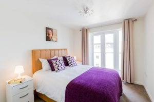 Abodebed Flat 59 Bedroom 1